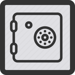 lock, locked, protection, safe, safety, secure, shield icon