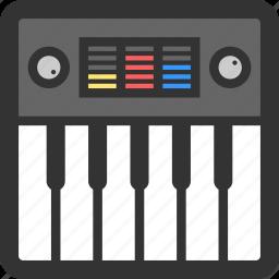 digital, electronic, electronics, music, sound, synthesizer icon