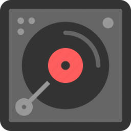 audio, disc, multimedia, music, play, sound, vinyl icon