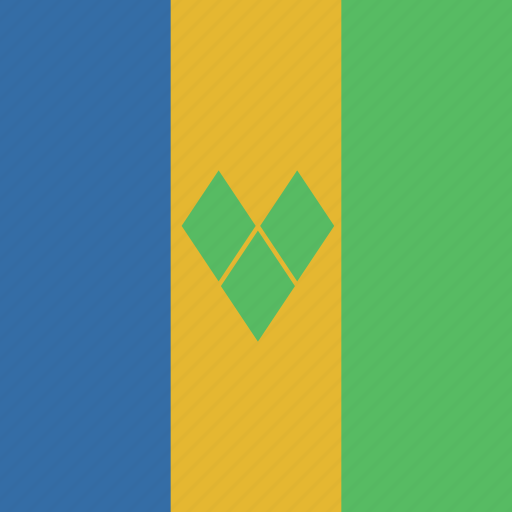 flag, grenadines, square, st, vincent icon