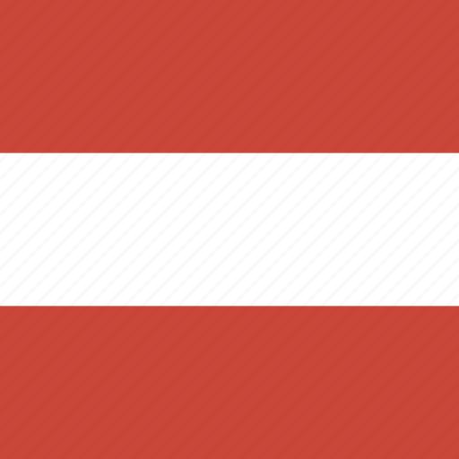 austria, flag, square icon