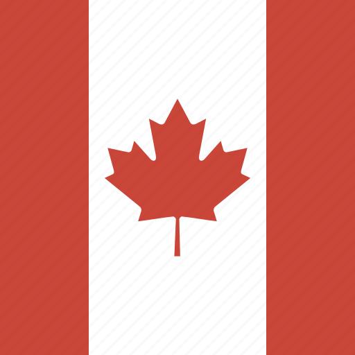 canada, flag, square icon