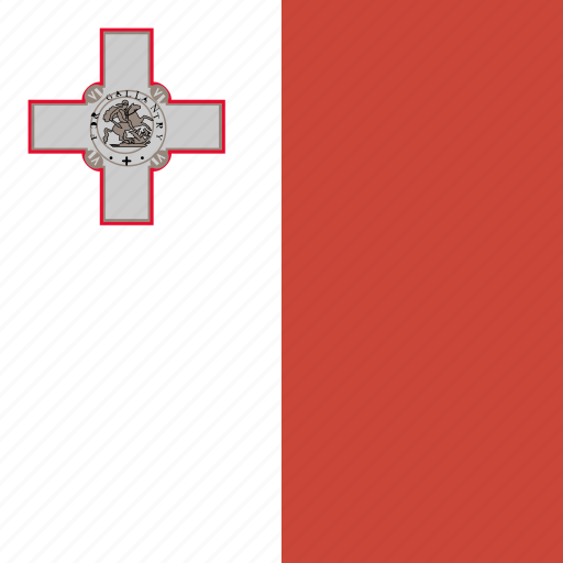 flag, malta, square icon