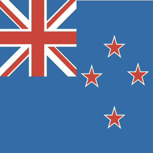 flag, new, square, zealand icon