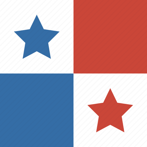 flag, panama, square icon