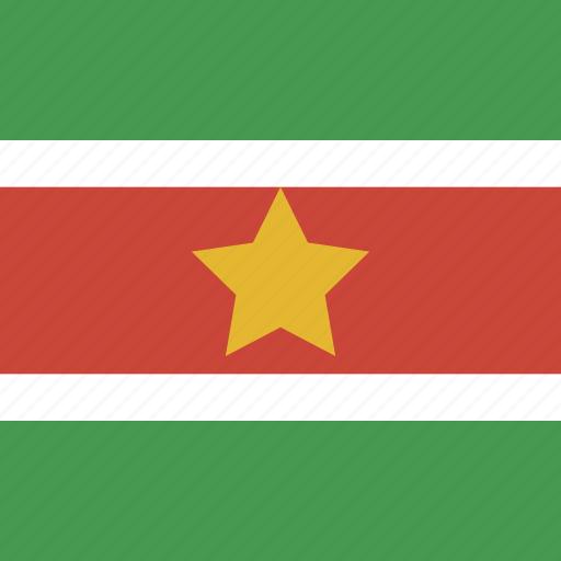 flag, square, suriname icon