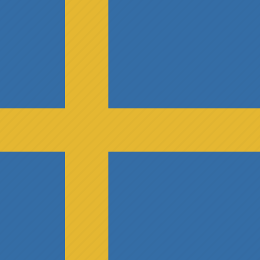 flag, square, sweden icon