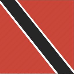 flag, square, tobago, trinidad icon