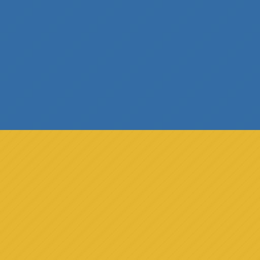 flag, square, ukraine icon