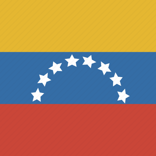 flag, square, venezuela icon