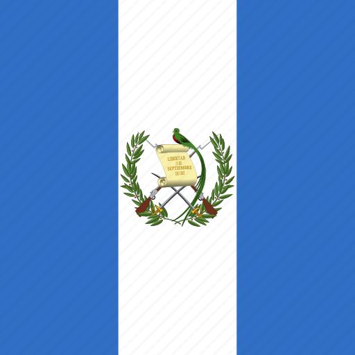 flag, guatemala, square icon