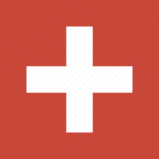 flag, square, switzerland icon
