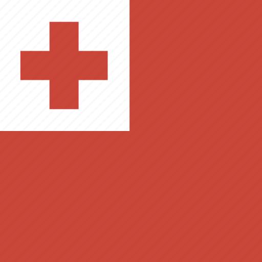 flag, square, tonga icon