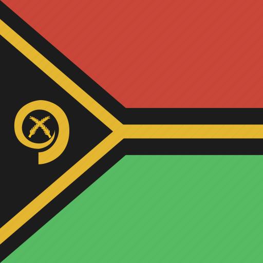 flag, square, vanuatu icon