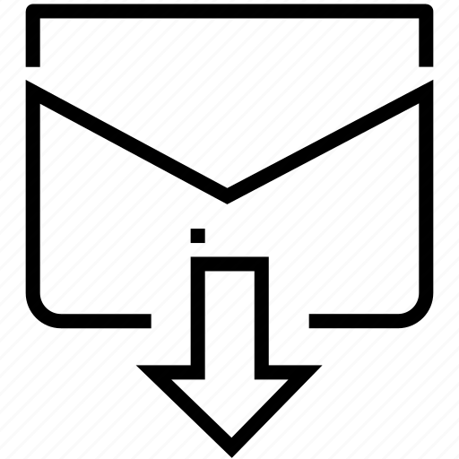 email, envelope, letter, mail, outgoing, send icon