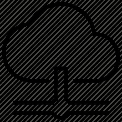 cloud, data, internet, network, storage icon