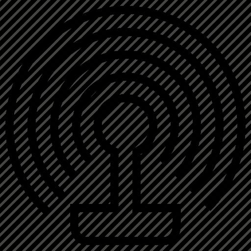 antenna, outdoor, signal icon