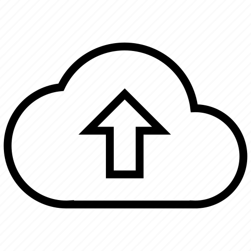 cloud, data, network, online, storage, upload icon