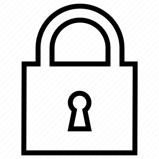 lock, protection, safe, secure, security icon
