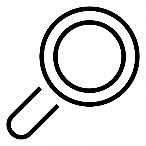 analyze, find, magnify, search, zoom icon
