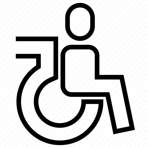 accesibility, handicap, handicaped, health, human icon