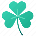 clover, green, irish, leaf, luck, shamrock, st patrick icon