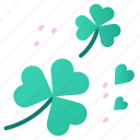 celebration, clovers, flow, irish, leaves, luck, shamrocks icon