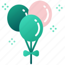 celebration, st patrick, green, holiday, decoration, irish, balloons