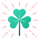 celebration, clover, holiday, irish, luck, shamrock, st patrick icon