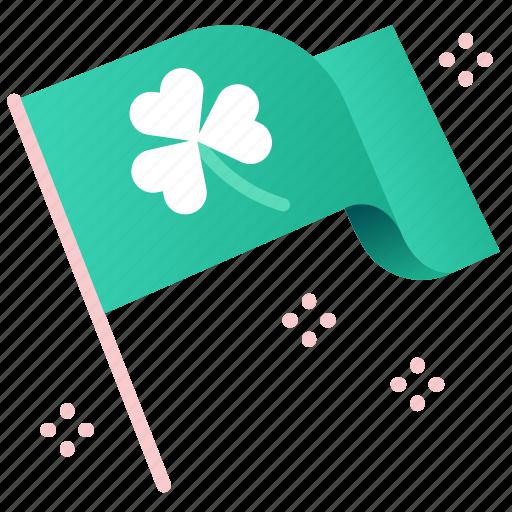 Celebration, clover, flags, irish, luck, shamrock, st patrick icon - Download on Iconfinder