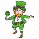 celebration, feast, irish fairy, leprechaun, leprechaun hat, st.patrick icon