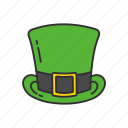 celtic hat, green hat, hat, headwear, irish hat, leprechaun hat, lucky hat