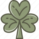 clover, leaf, patrick, shamrock icon