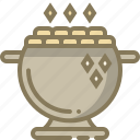 coin, gold, patrick, pot icon