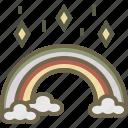 myth, patrick, rainbow, treasure