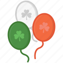 balloon icon, balloons, celebrate, festival, party, st patrick's day icon