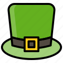 fashion, hat, pilgrim, saint patrick icon