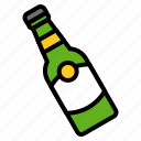 beer, beverage, bottle, drinks icon