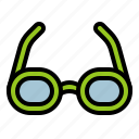 accessory, fashion, glasses, vision icon