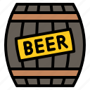 alcohol, barrel, beer, beverage icon