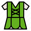 clothing, fashion, saint patrick, shirt icon