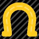 hoof, horseshoe, iron, protection icon