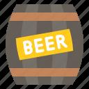 alcohol, barrel, beer, beverage