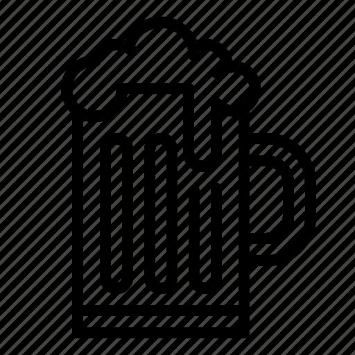 ale, beer, beverage, drinks, mug icon