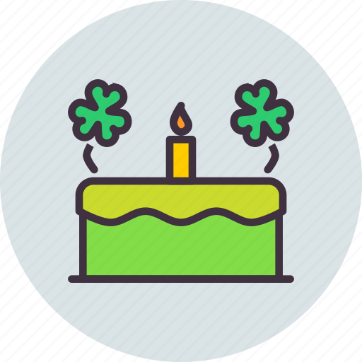 cake, celebrate, celebration, festival, patricks, saint, sweet icon