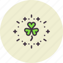 celebrate, day, festival, irish, patricks, saint, shamrock icon
