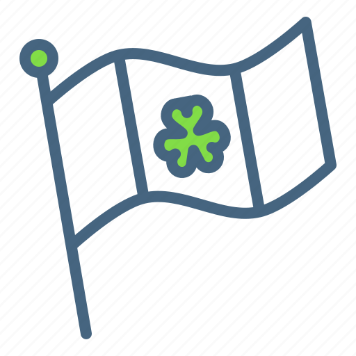 Day, festival, flag, irish, patricks, saint, shamrock icon - Download on Iconfinder