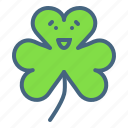 clover, festival, leaf, patricks, saint, shamrock, three icon