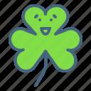 clover, festival, patricks, saint, shamrock, three, leaf