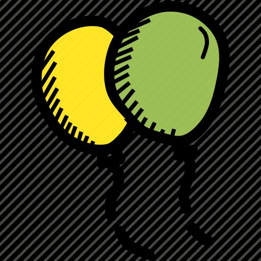 Balloon, celebrate, day, festival, irish, patricks, saint icon - Download on Iconfinder